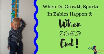 When Do Growth Spurts In Babies Happen